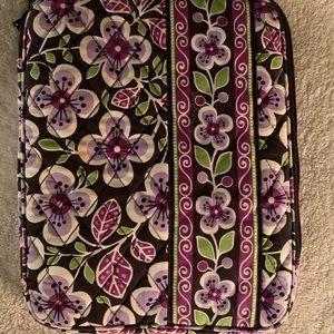 "Vera Bradley ""Plum Petals"" tablet cover"